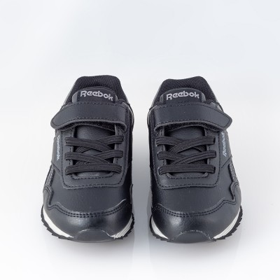 Zapatilla deportiva color negro. Reebok.