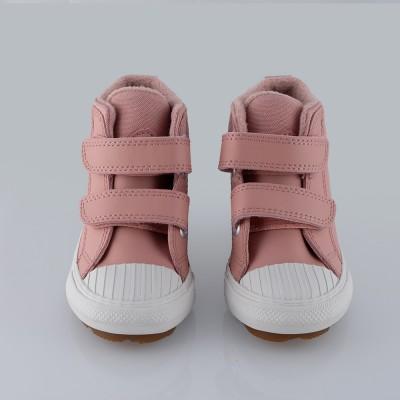 Botín Velcro Rosa. Converse