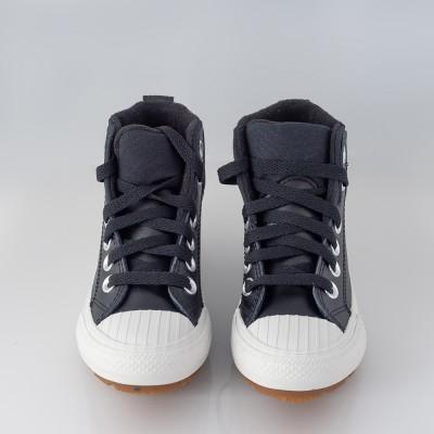 Botas converse negra cordón