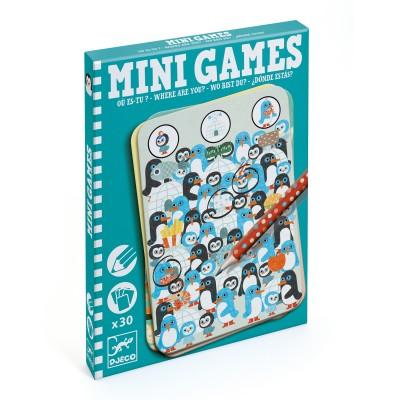 Mini juegos ¿Dónde estás?